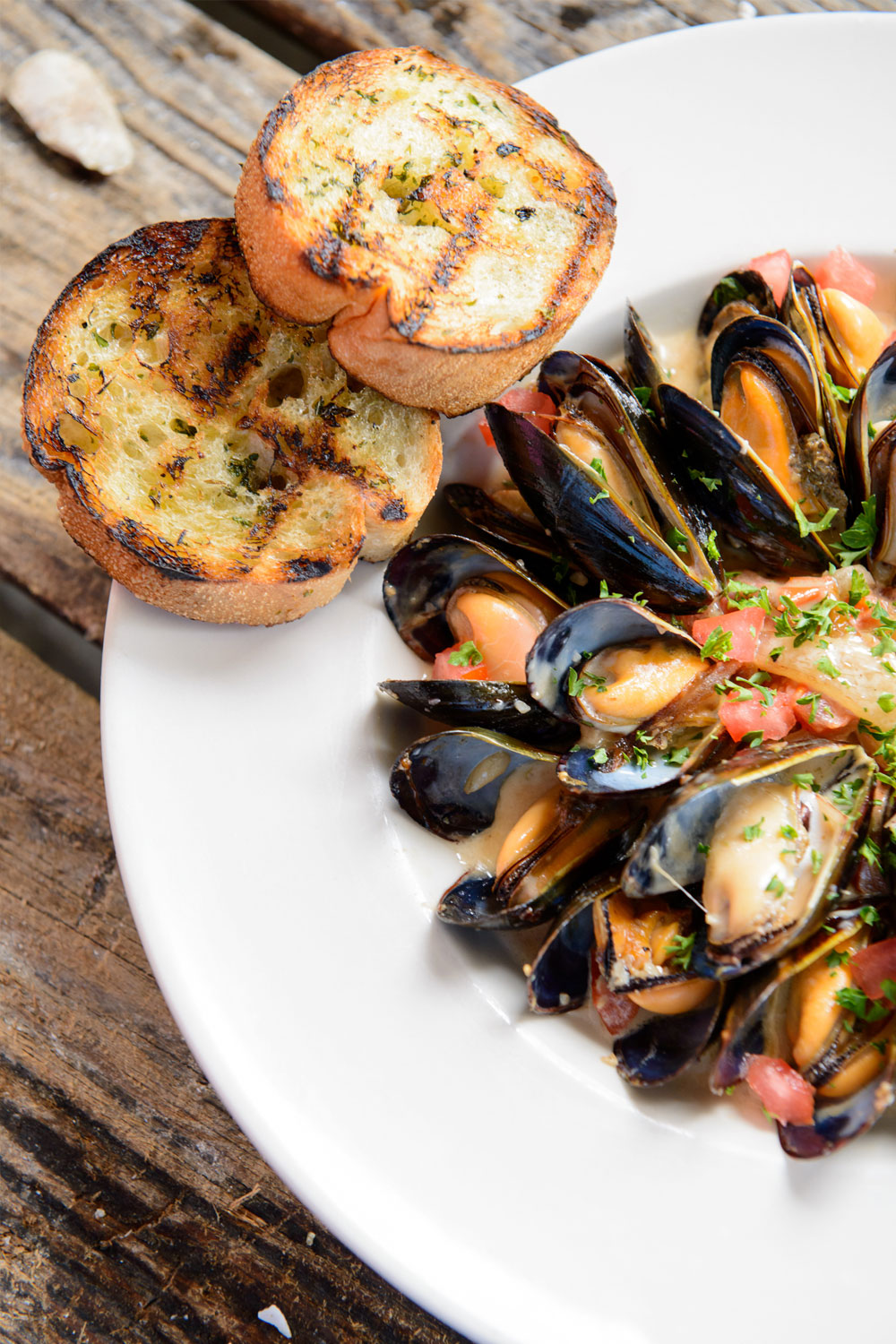 Lowcountry Mussels - Fresh On The Menu Recipe