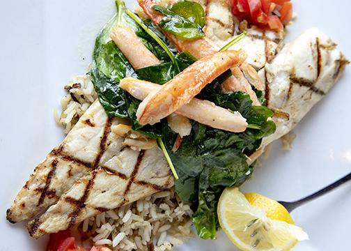 Nick's Steak and Seafood  - Fresh On The Menu