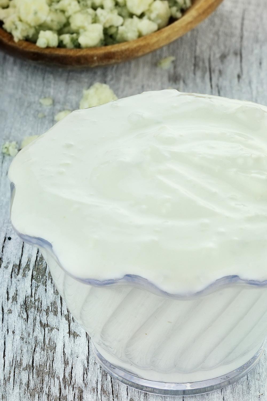 Blue Cheese Dressing - Fresh On The Menu Recipe