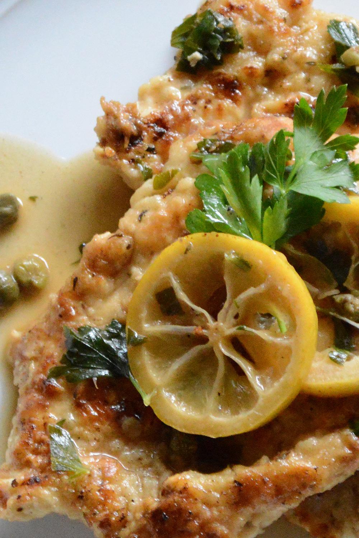 Chicken Picatta - Fresh On The Menu Recipe