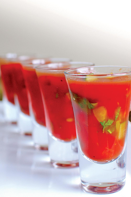 Gazpacho Sauce - Fresh On The Menu Recipe