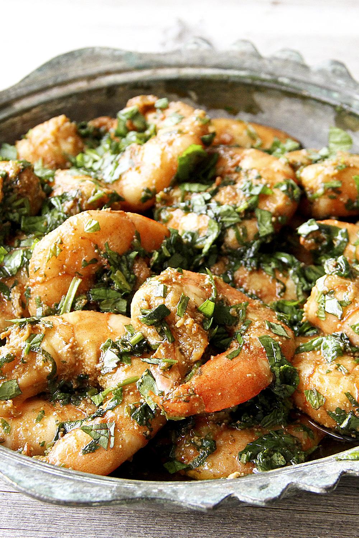 Pesto Shrimp - Fresh On The Menu Recipe