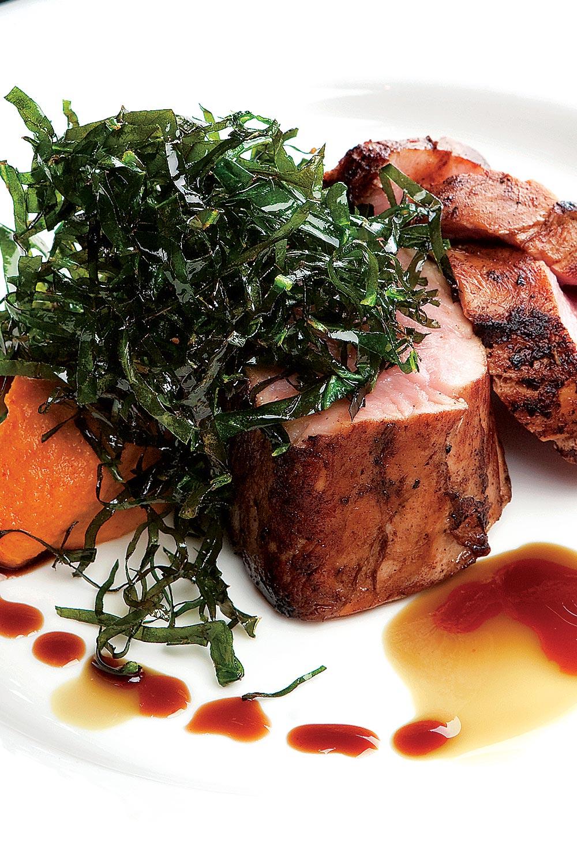 Pork Tenderloin with Apple Cider Sauce - Fresh On The Menu Recipe