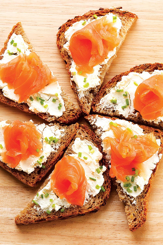 Salmon, Goat Cheese and Apple Slaw - Fresh On The Menu Recipe