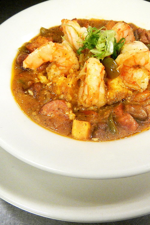 Maverick Shrimp and Grits - Fresh On The Menu Recipe