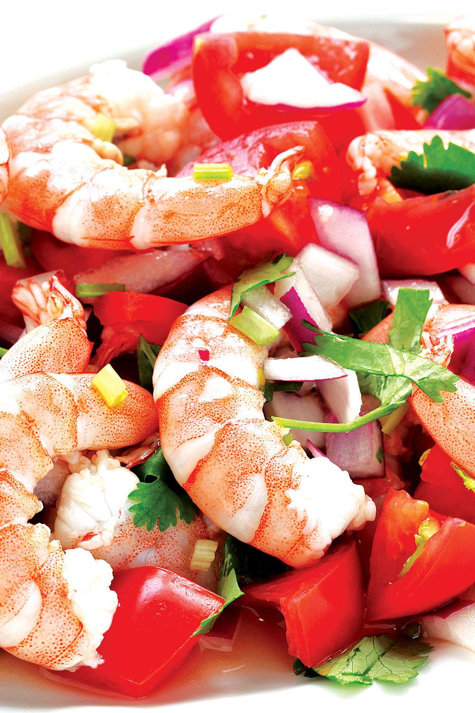 Shrimp Ceviche - Fresh On The Menu Recipe