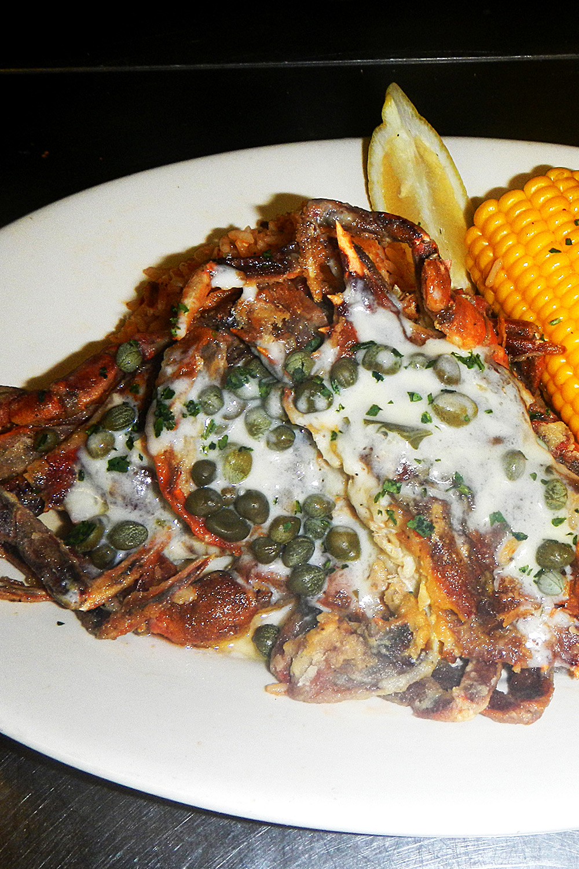 Fresh Local Soft Shell Crab - Fresh On The Menu Recipe