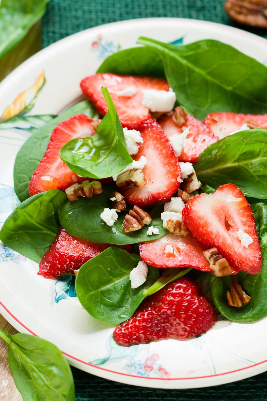 Strawberry Salad - Fresh On The Menu Recipe