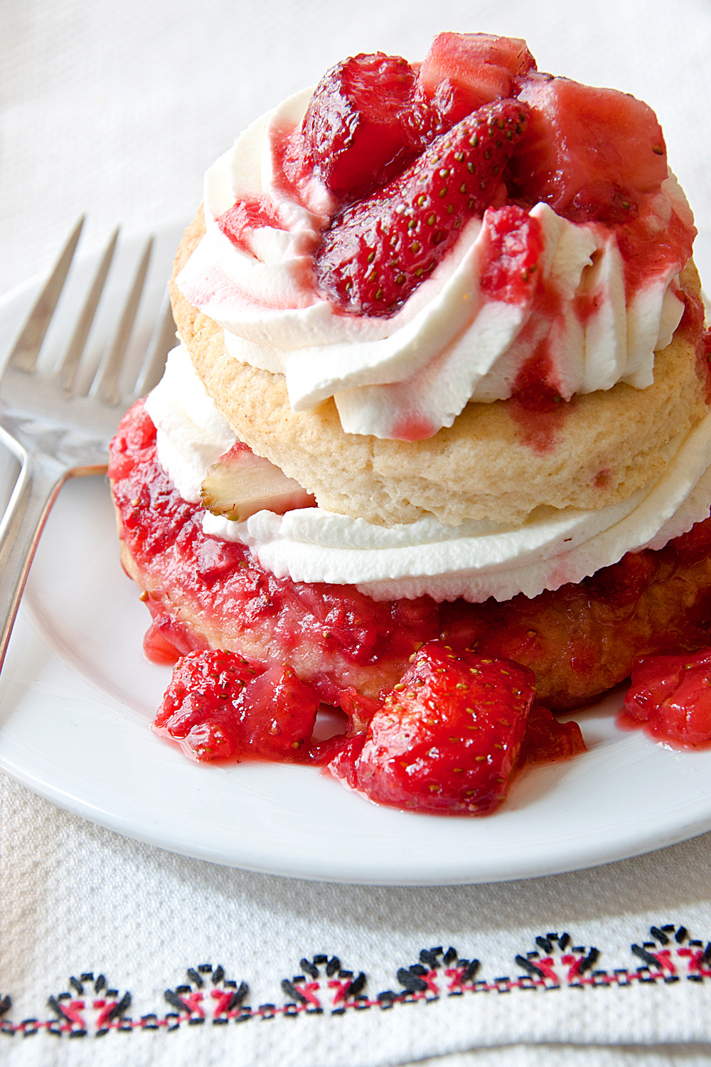 Grilled Cottle Farms Strawberry Short Cake - Fresh On The Menu Recipe