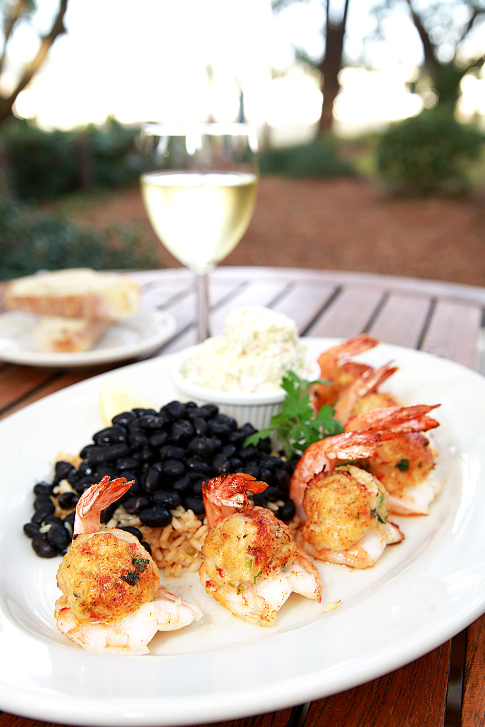 Black Marlin Stuffed Shrimp - Fresh On The Menu Recipe