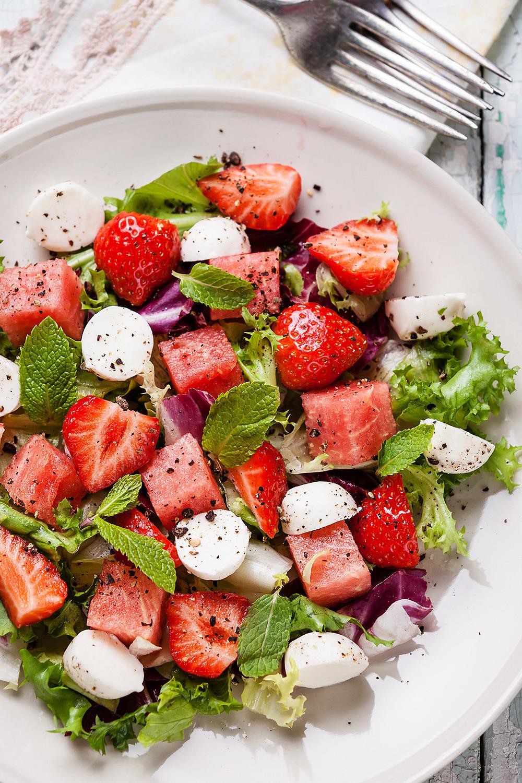 Watermelon Salad - Fresh On The Menu Recipe