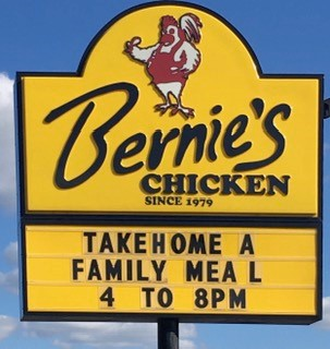Bernie's Chicken  - Fresh On The Menu