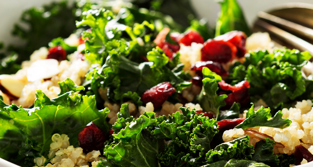 Kale, Apple and Quinoa Salad - Fresh On The Menu Recipe