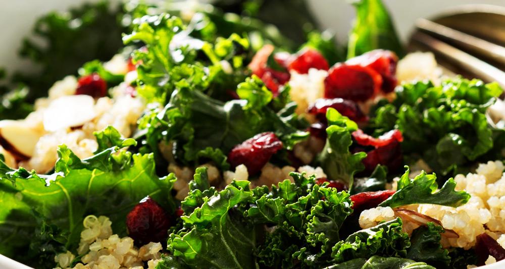 Kale, Apple and Quinoa Salad - Fresh On The Menu Recipe
