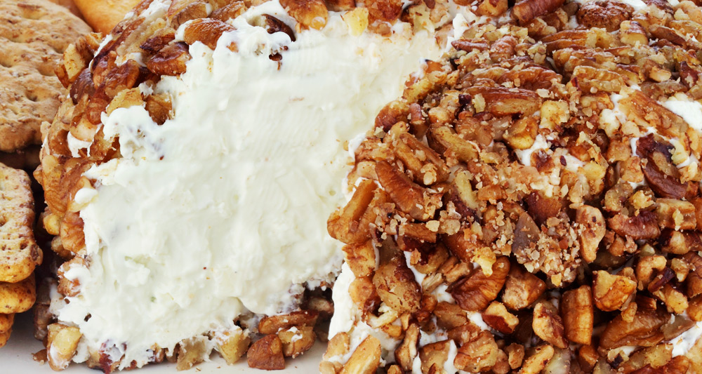 Pecan Apple Cheese Ball - Fresh On The Menu Recipe