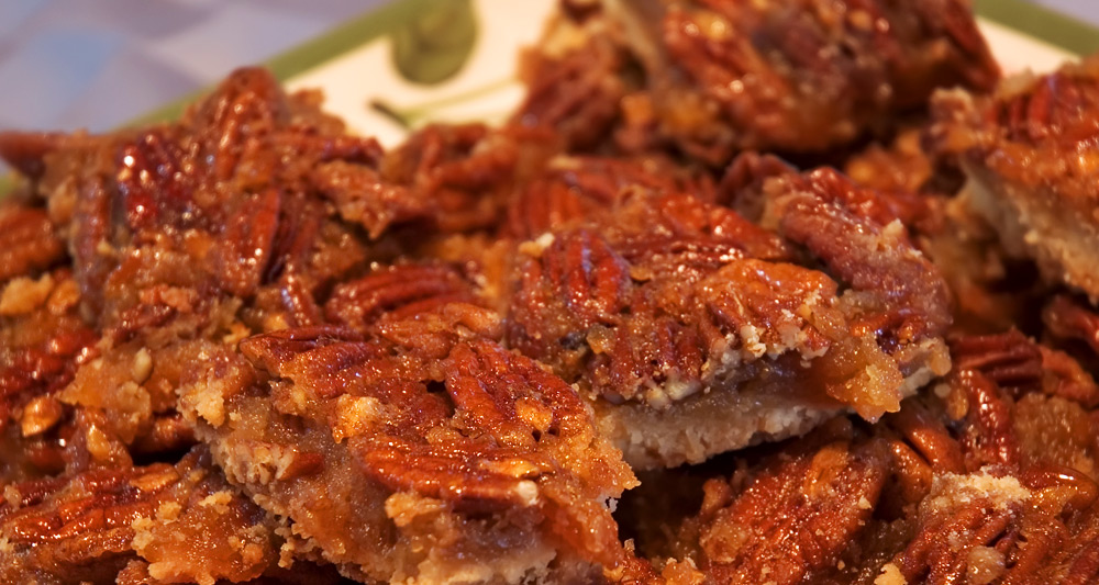 Pecan Pie Bars - Fresh On The Menu Recipe
