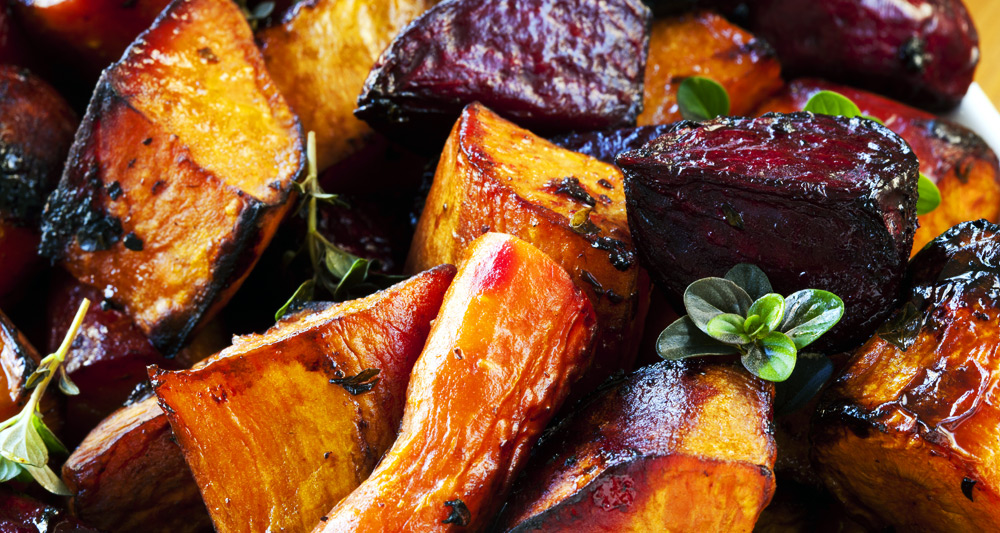 Roasted Balsamic Beets and Carrots - Fresh On The Menu Recipe