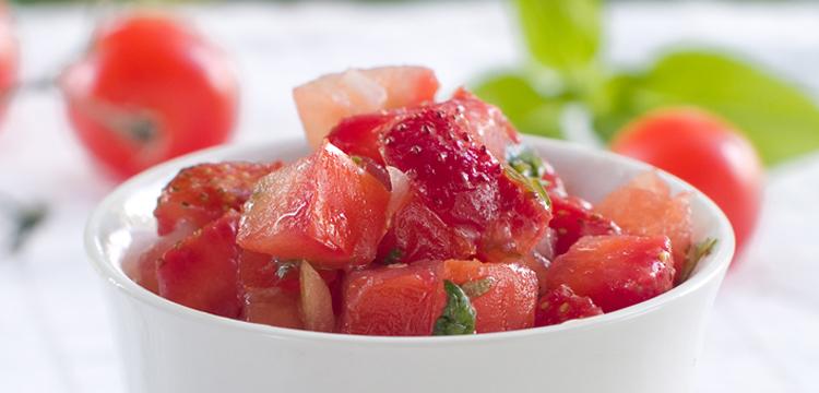 Strawberry Salsa - Fresh On The Menu Recipe