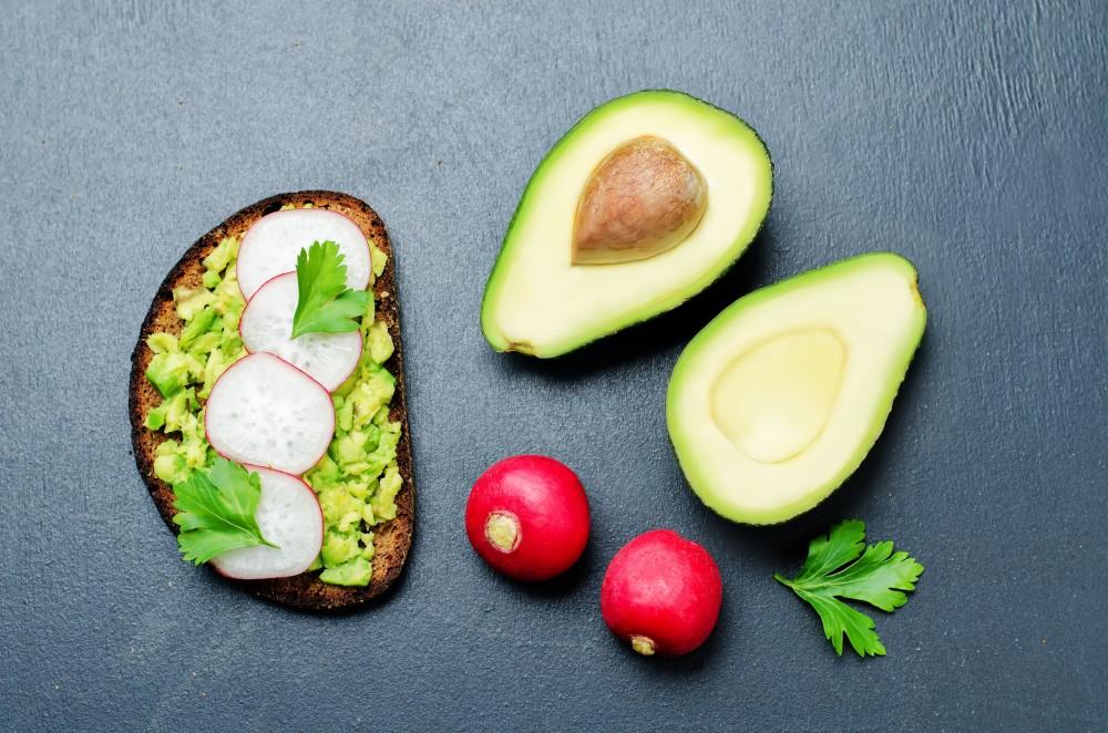 Springtime Avocado and Radish Toast - Fresh On The Menu Recipe