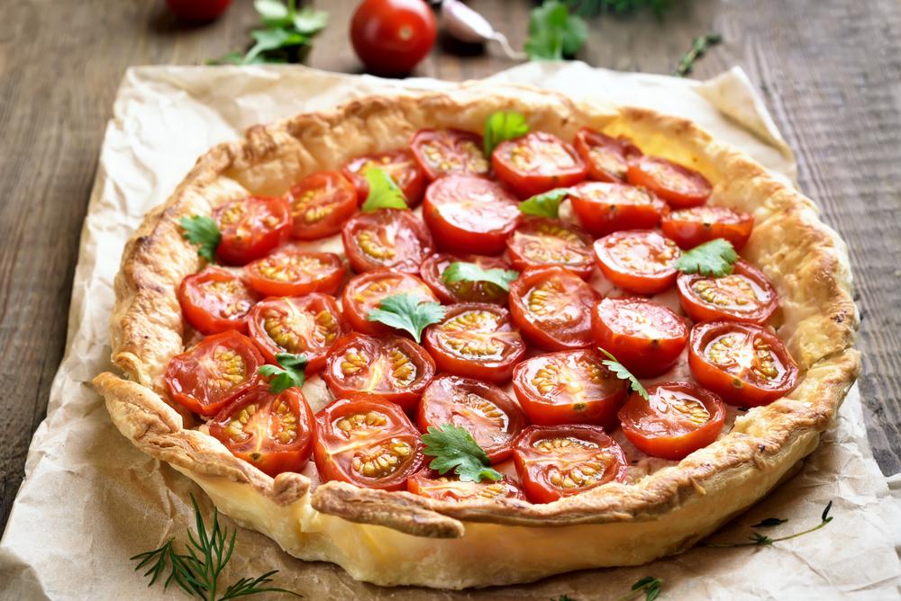 Tomato Pie - Fresh On The Menu Recipe