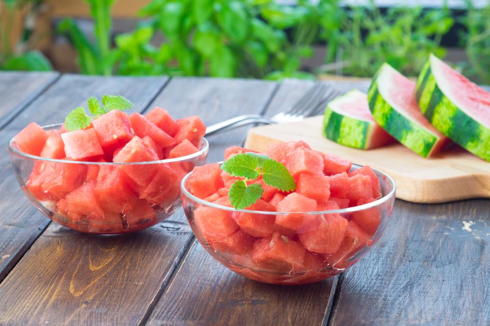 Honey Glazed Watermelon Bites - Fresh On The Menu Recipe