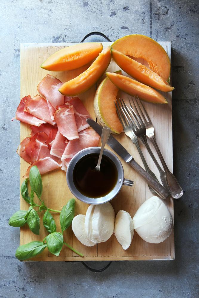Cantaloupe and Mozzarella Caprese Salad - Fresh On The Menu Recipe