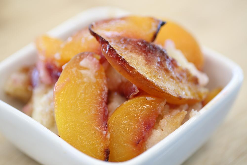 Peach Cobbler - Fresh On The Menu Recipe